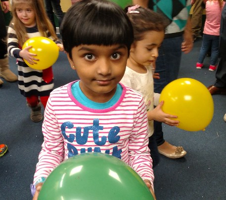 Children Interacting at our preschool activities in Dayton, OH.
